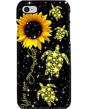 Turtle Diamond - You Are My Sunshine Phone Case i-phone-8-case
