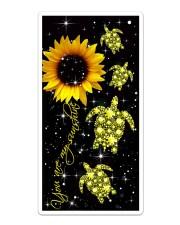Turtle Diamond - You Are My Sunshine Sticker tile