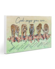 Tiger God Says You Are 30x20 Gallery Wrapped Canvas Prints thumbnail