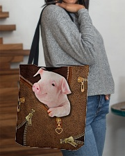 Pig  All-over Tote aos-all-over-tote-lifestyle-front-09