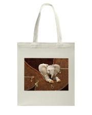 Elephant Zip Tote Bag tile