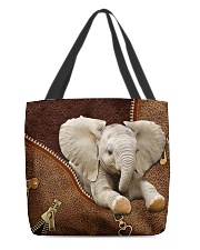 Elephant Zip All-Over Tote tile