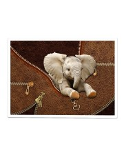Elephant Zip Sticker tile