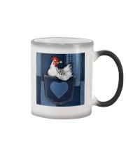 Chicken Jean Pocket Tb Color Changing Mug thumbnail