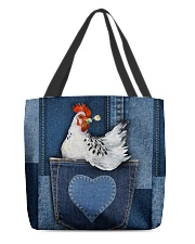Chicken Jean Pocket Tb All-over Tote back