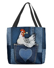 Chicken Jean Pocket Tb All-over Tote front