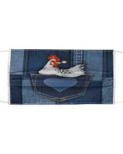 Chicken Jean Pocket Tb Cloth face mask thumbnail