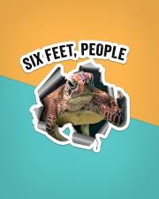 Turtle Six Feet People St Sticker - Single (Vertical) aos-sticker-single-vertical-lifestyle-front-02
