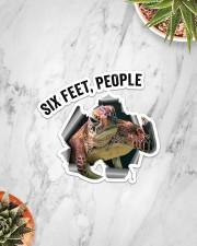 Turtle Six Feet People St Sticker - Single (Vertical) aos-sticker-single-vertical-lifestyle-front-06