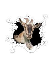 Goat Crack Sticker - Single (Vertical) front