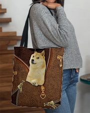 Shiba Inu  All-over Tote aos-all-over-tote-lifestyle-front-09