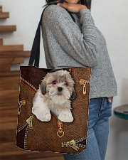 Shih Tzu  All-over Tote aos-all-over-tote-lifestyle-front-09