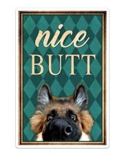 German Shepherd Nice Butt Sticker - Single (Vertical) thumbnail