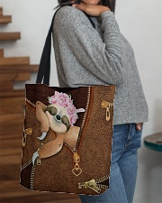 Sloth Cute  All-over Tote aos-all-over-tote-lifestyle-front-09