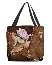 Sloth Cute  All-over Tote front