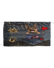 German Shepherd - Want Go Out Leather Mask tile