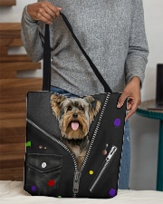 Yorkshire Terrier - Zip - All Tote All-over Tote aos-all-over-tote-lifestyle-front-10