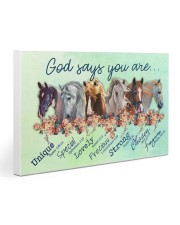 Horse God Say You Are Gallery Wrapped Canvas Prints tile