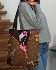 Flamingo  All-over Tote aos-all-over-tote-lifestyle-front-09
