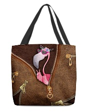 Flamingo  All-over Tote front