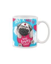 Dog - Just a Nurse Who Loves Pug Mug thumbnail
