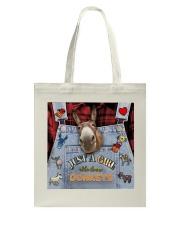 Just A Girl Who Loves Donkey Tote Bag thumbnail