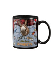 Just A Girl Who Loves Donkey Mug thumbnail