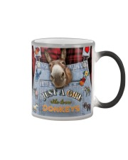 Just A Girl Who Loves Donkey Color Changing Mug thumbnail