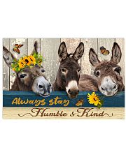 Donkey - Humble And Kind 17x11 Poster front