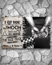 Custom Name Racing I Love You To The Moon And Back 17x11 Poster aos-poster-landscape-17x11-lifestyle-13
