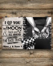 Custom Name Racing I Love You To The Moon And Back 17x11 Poster aos-poster-landscape-17x11-lifestyle-14