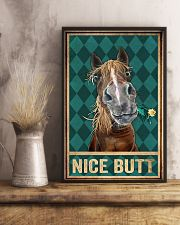 Horse Nice Butt 11x17 Poster lifestyle-poster-3