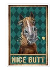Horse Nice Butt Sticker - Single (Vertical) thumbnail