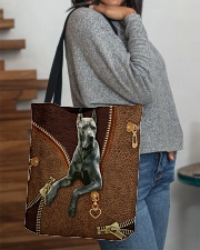 Great Dane Tote Bag All-over Tote aos-all-over-tote-lifestyle-front-09