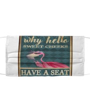 Flamingo - Have A Seat  Mask tile