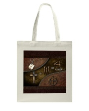 Jesus 1 Cross 3 Nails 4Given Tote Bag thumbnail