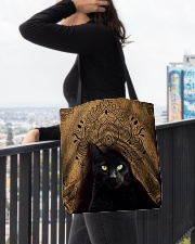 Black Cat Royal All-over Tote aos-all-over-tote-lifestyle-front-05