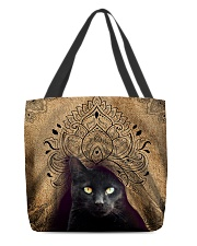 Black Cat Royal All-over Tote front