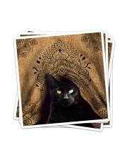 Black Cat Royal Sticker - 4 pack (Vertical) thumbnail