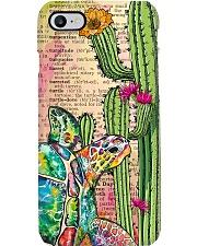 Turtle Cactus Phone Case  Phone Case i-phone-8-case