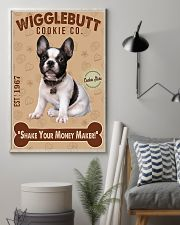 Bull Dog - French Bulldog Wigglebutt Cookie 11x17 Poster lifestyle-poster-1