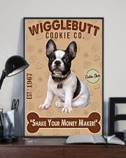 Bull Dog - French Bulldog Wigglebutt Cookie 11x17 Poster lifestyle-poster-2
