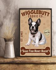 Bull Dog - French Bulldog Wigglebutt Cookie 11x17 Poster lifestyle-poster-3
