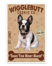 Bull Dog - French Bulldog Wigglebutt Cookie Sticker tile