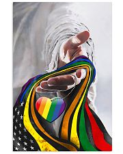 God And LGBT America Flag 11x17 Poster front