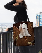 Maltese  All-over Tote aos-all-over-tote-lifestyle-front-05