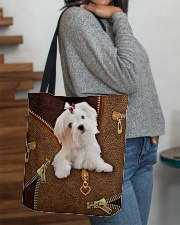 Maltese  All-over Tote aos-all-over-tote-lifestyle-front-09