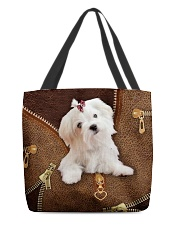 Maltese  All-over Tote front