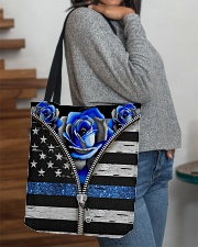 Back The Blue Roses  All-over Tote aos-all-over-tote-lifestyle-front-09