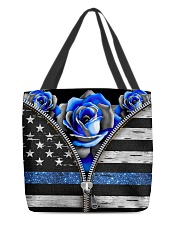 Back The Blue Roses  All-over Tote back